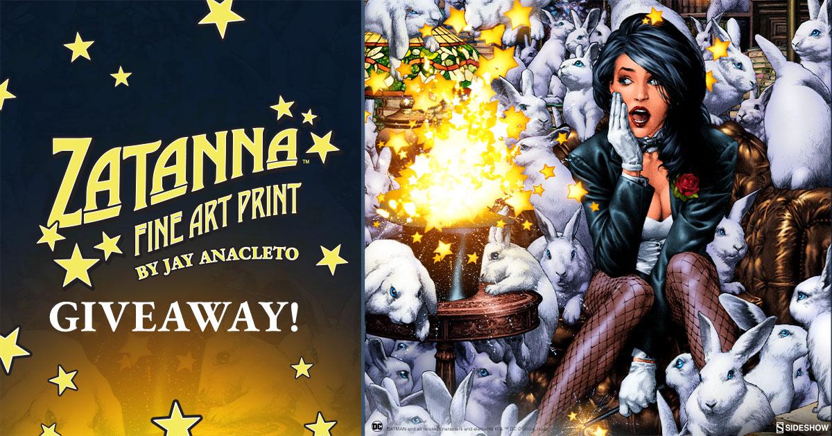Zantanna Fine Art Print Giveaway