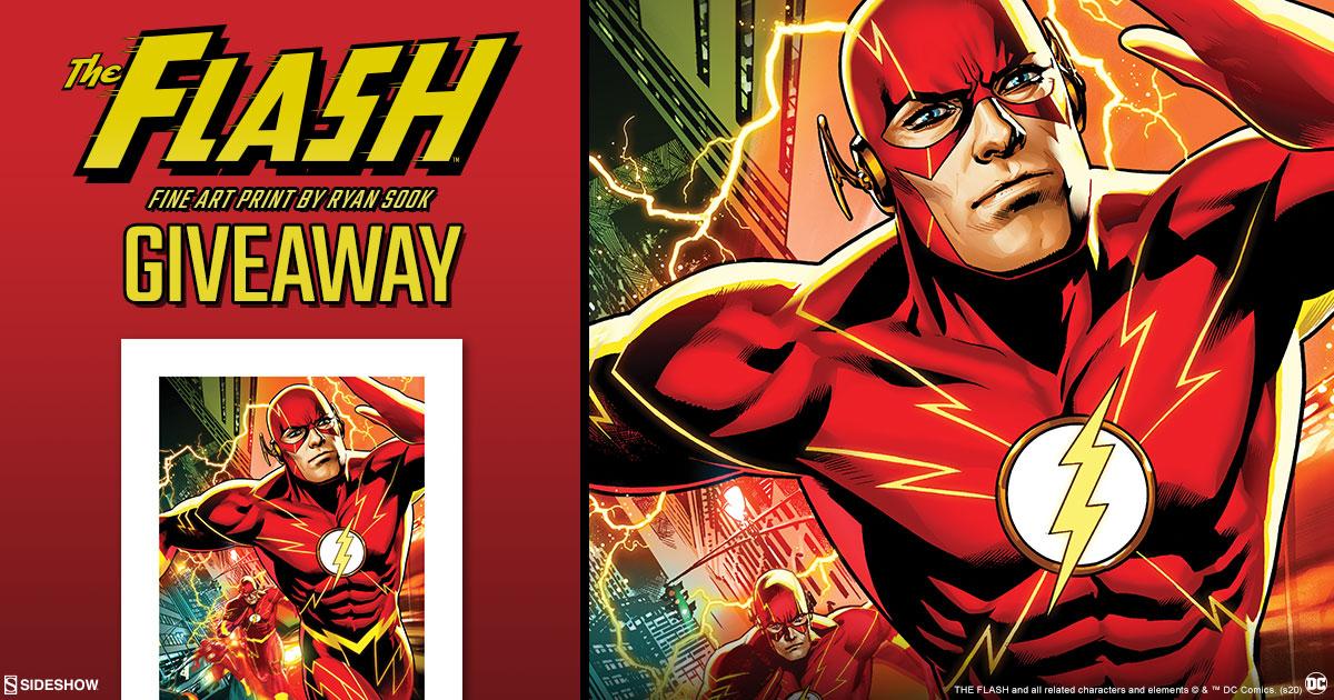 The Flash Fine Art Print Giveaway