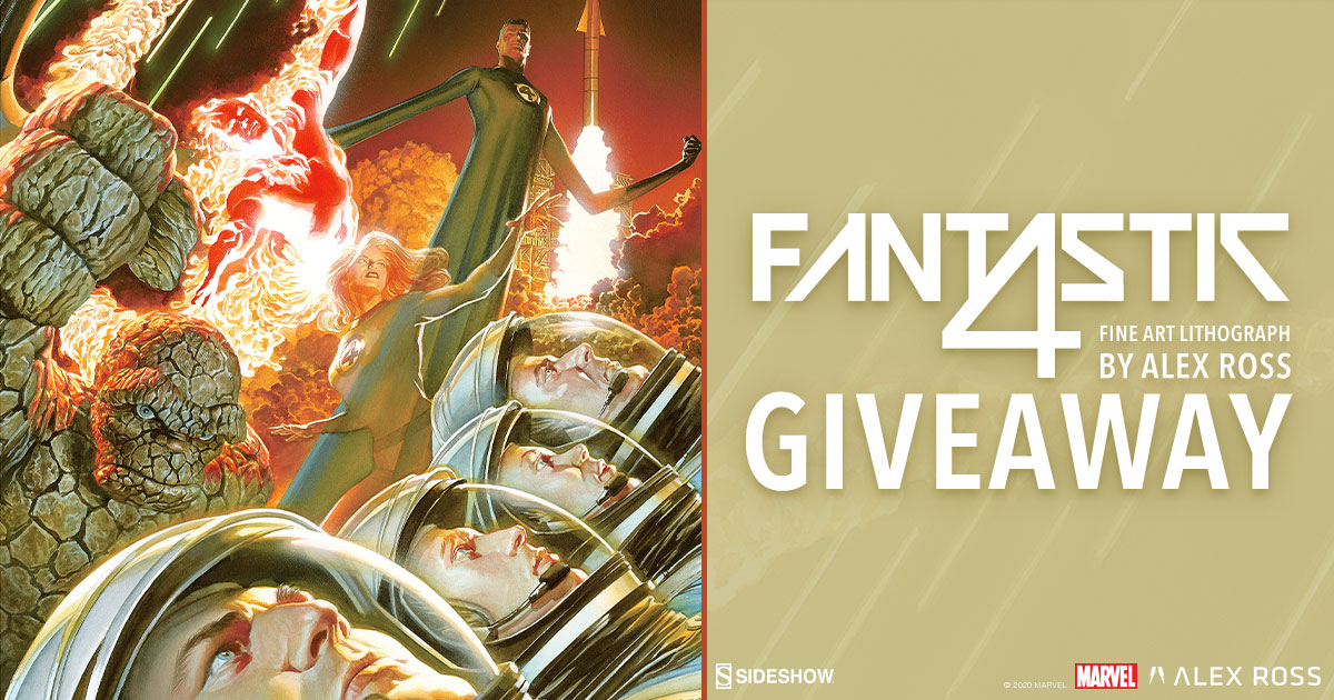 Marvel 75th Anniversary: Fantastic Four Fine Art Lithograph Giveaway
