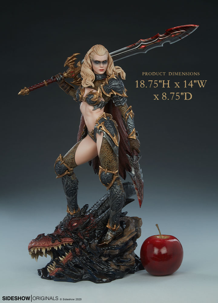 The Dragon Slayer: Warrior Forged in Flame Statue Dragon-Slayer-Warrior-Forged-in-Flame-Statue-1