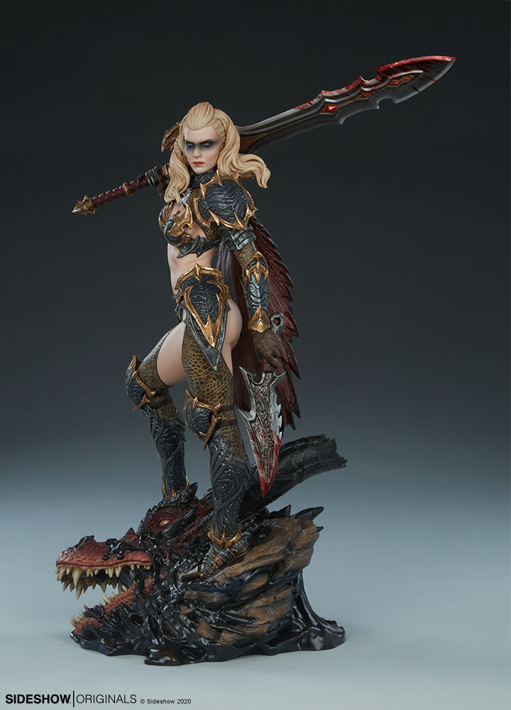 The Dragon Slayer: Warrior Forged in Flame Statue Dragon-Slayer-Warrior-Forged-in-Flame-Statue-2