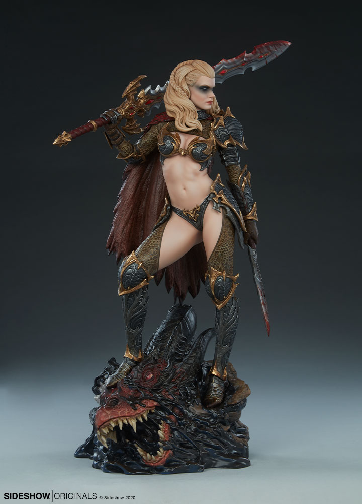The Dragon Slayer: Warrior Forged in Flame Statue Dragon-Slayer-Warrior-Forged-in-Flame-Statue-5