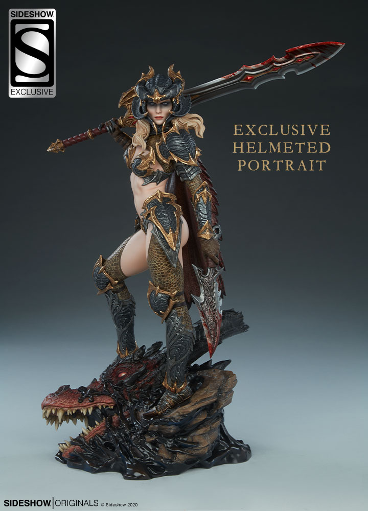 The Dragon Slayer: Warrior Forged in Flame Statue Dragon-Slayer-Warrior-Forged-in-Flame-Statue-Exclusive-2-1