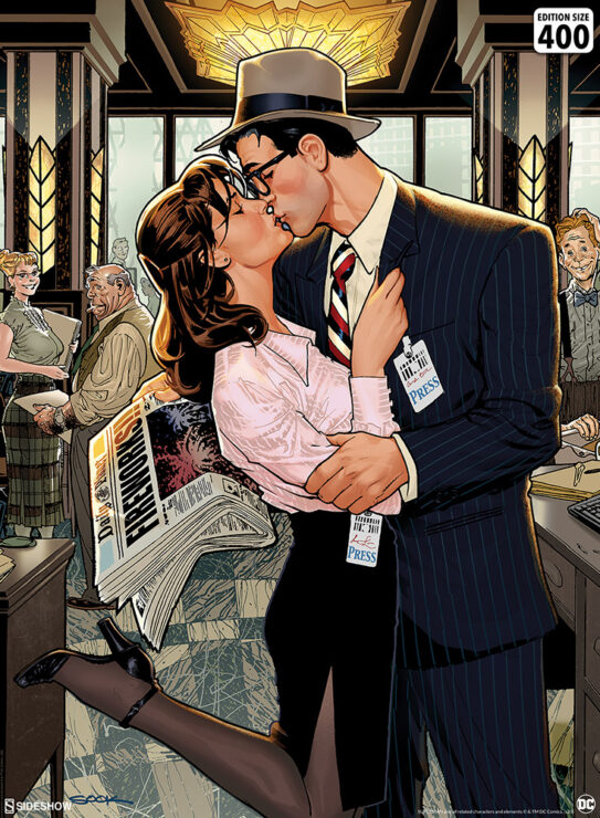 The Lois & Clark: Fireworks!! Fine Art Print by Artist Ryan Sook
