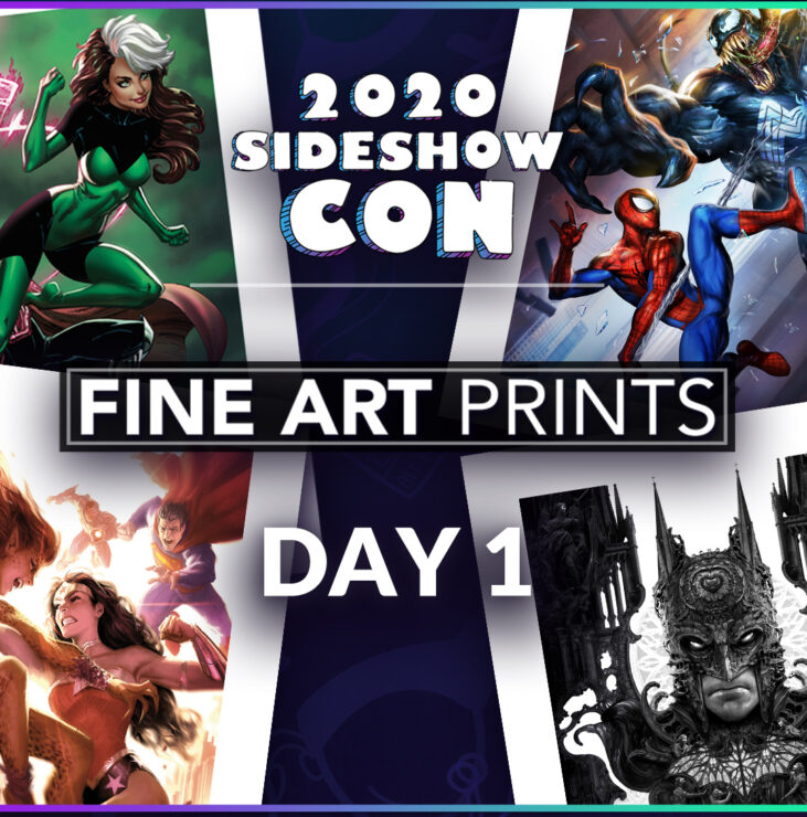 Sideshow Con 2020: Fine Art Prints Display