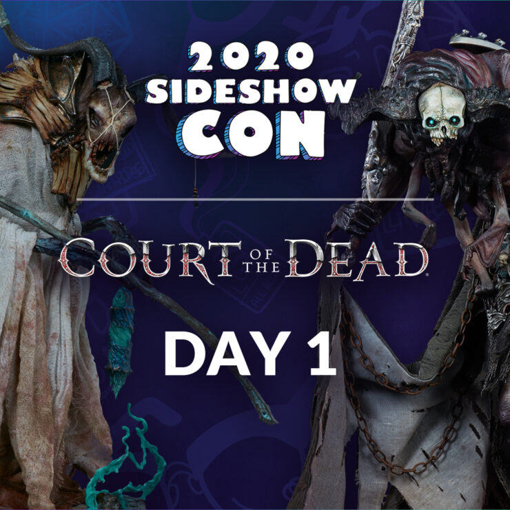 Sideshow Con 2020: Court of the Dead Podium
