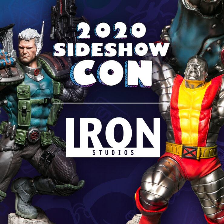 Sideshow Con 2020: Iron Studios Podium