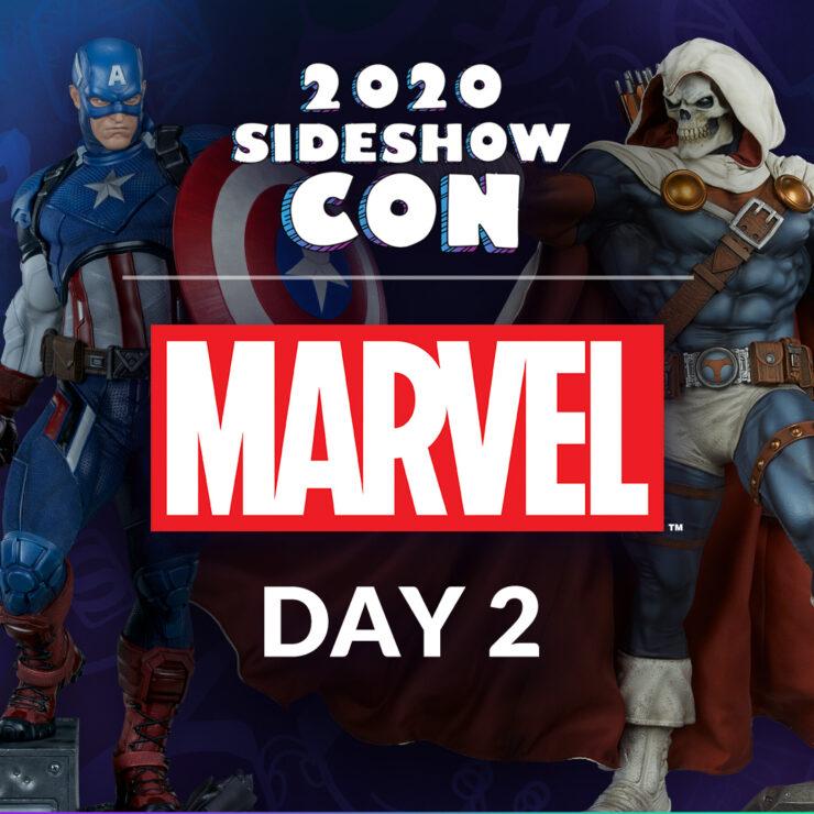 Sideshow Con 2020: Marvel Podium