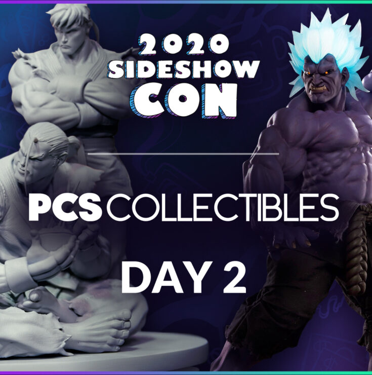Sideshow Con 2020: PCS Collectibles Podium