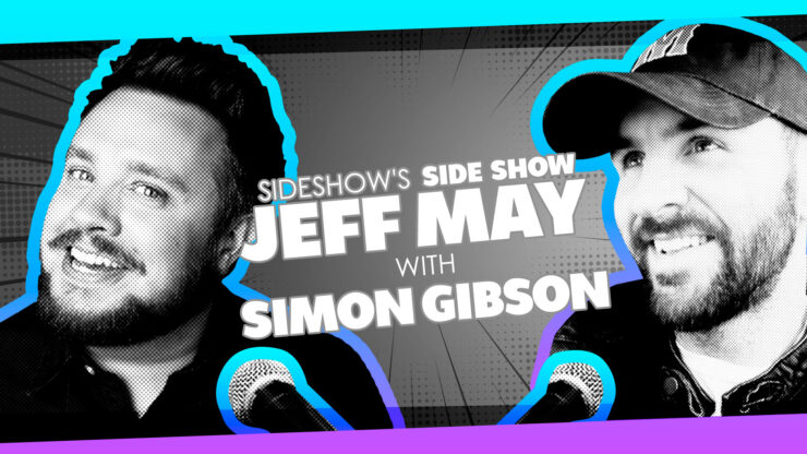 Cannonball, Documentaries, and Classic Game Shows with Comedian Simon Gibson on Sideshow's Side Show with Jeff May