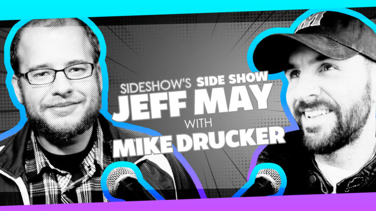 Arcade Memories, Con Culture, and More with Writer/Comedian Mike Drucker on Sideshow's Side Show with Jeff May