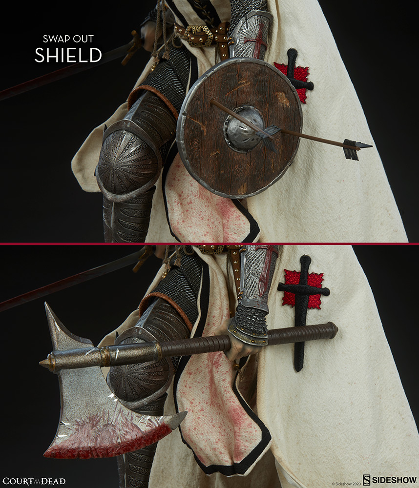 COURT OF THE DEAD : SHARD -  faith bearers fury Premium Format Shard-Faith-Bearer%E2%80%99s-Fury-Premium-Format%E2%84%A2-Figure-8