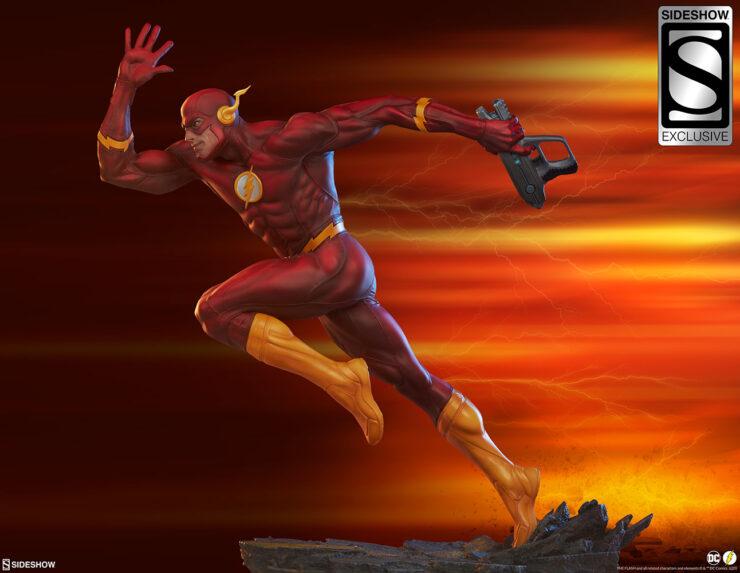 New Photos of The Flash Premium Format™ Figure