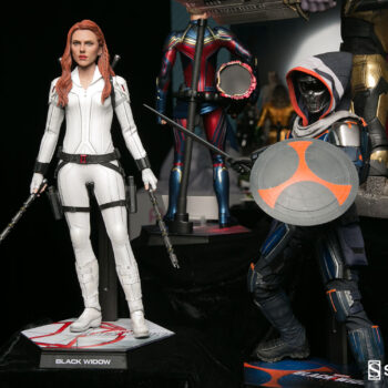 Black Widow and Taskmaster Sixth Scale Figures