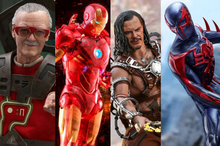 Hot Toys Announces New Exclusive Collectibles Available at Sideshow Con 2020