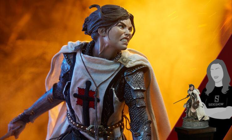 New Photos of the Shard: Faith Bearer's Fury Premium Format™ Figure