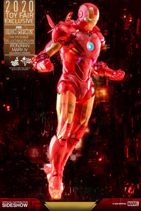 Iron Man Holographic Mark IV Sixth Scale Figure- Hot Toys
