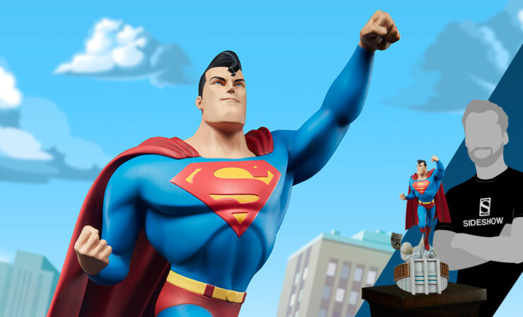 Superman Statue by Sideshow