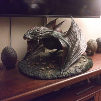 Game of Thrones Dragon Statue