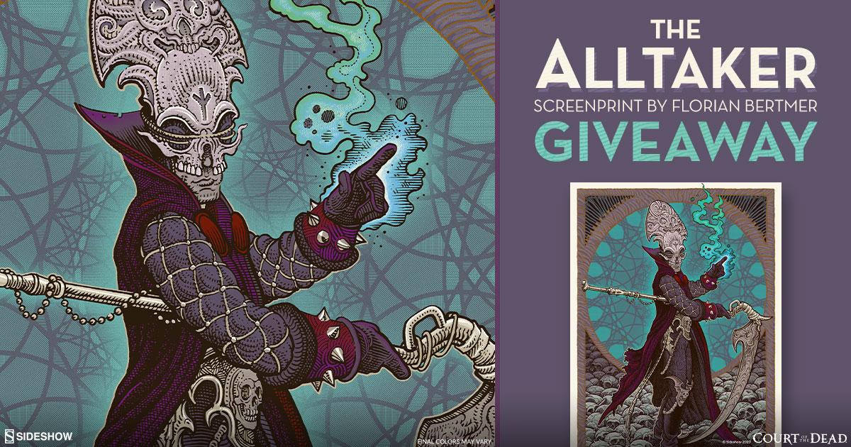 The Alltaker Fine Art Screenprint Giveaway