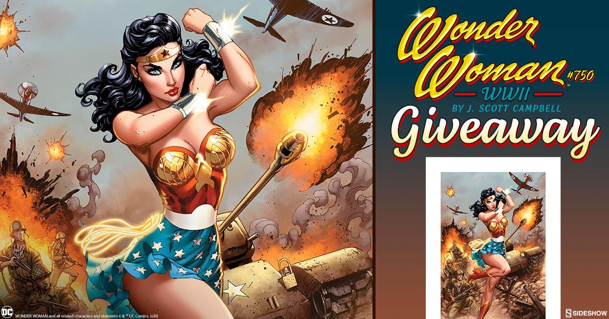Wonder Woman #750: WWII Fine Art Print Giveaway