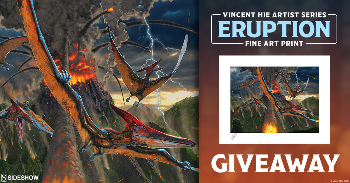 Eruption Fine Art Print Giveaway