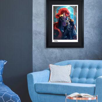 Black Bolt & Medusa Fine Art Print by Tom Jilesen