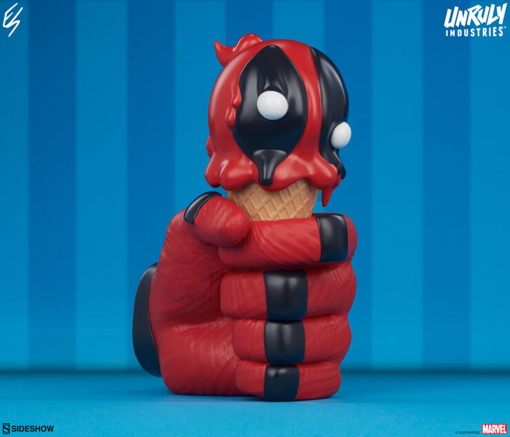 New Photos of the Deadpool: One-Scoops Designer Collectible Toy by Artist Erik Scoggan