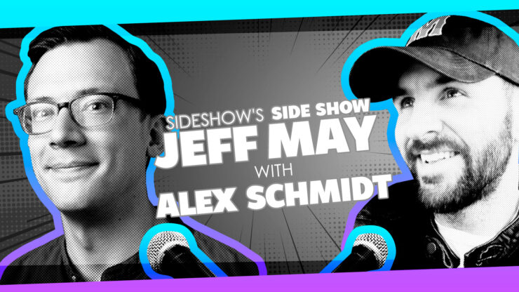 Jeopardy, Creating Emojis, VHS collecting, and More with Writer/Podcaster Alex Schmidt on Sideshow's Side Show with Jeff May