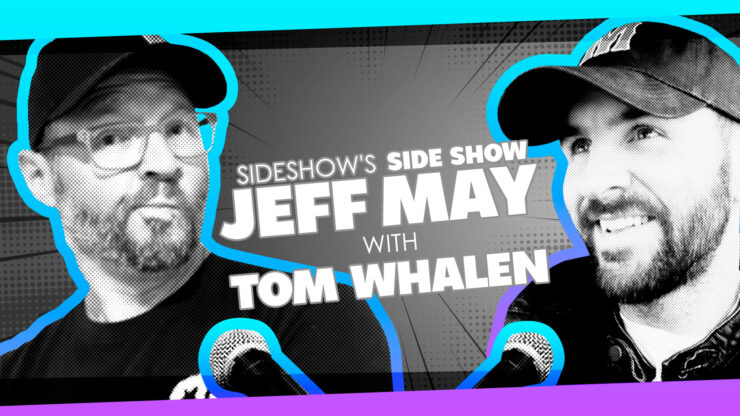 Lifelong Dreams, Philadelphia, Kaiju Love, and More with Artist Tom Whalen on Sideshow's Side Show with Jeff May