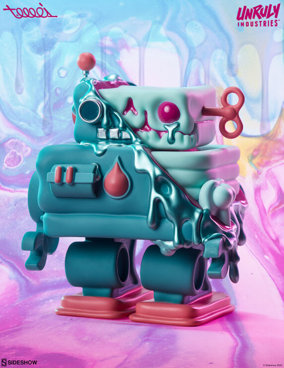 New Photos of the Smelter Skelter Designer Collectible Toy by Artist T. Wei