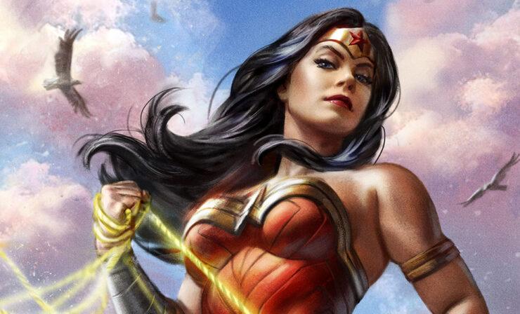 The Wonder Woman #755 Fine Art Print by Artist Ian MacDonald