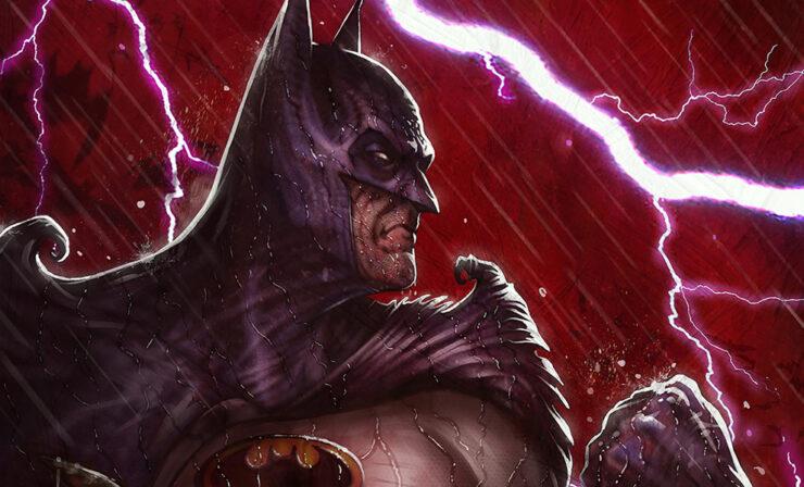 The Batman: World's Greatest Detective Fine Art Print by Artist Máté Jakó
