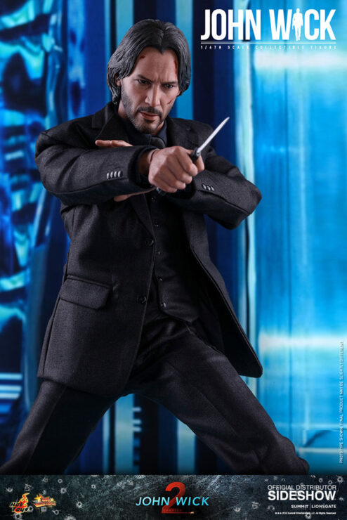 John Wick with a Knife- Hot Toys
