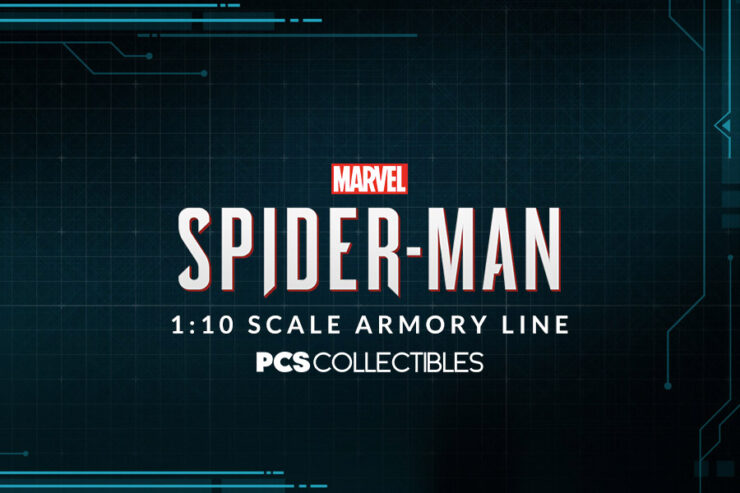 Spider-Fans! Swing into Marvel's Spider-Man 1:10 Scale Armory Line by PCS Collectibles
