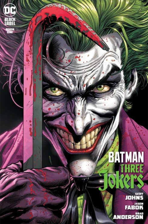 Batman: Three Jokers #1 (Death in the Family Joker Cover)
