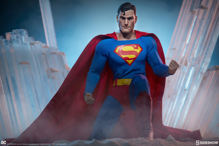 New Production Photos of the Superman Sixth Scale Figure