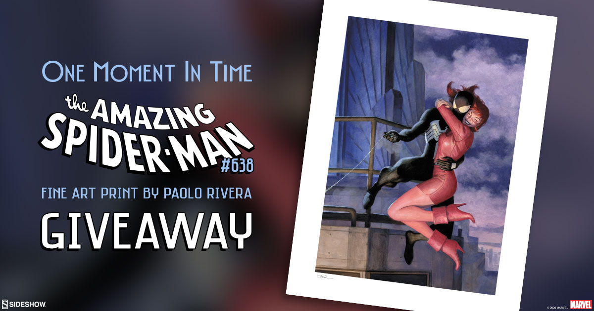The Amazing Spider-Man 638: One Moment In Time Fine Art Print Giveaway