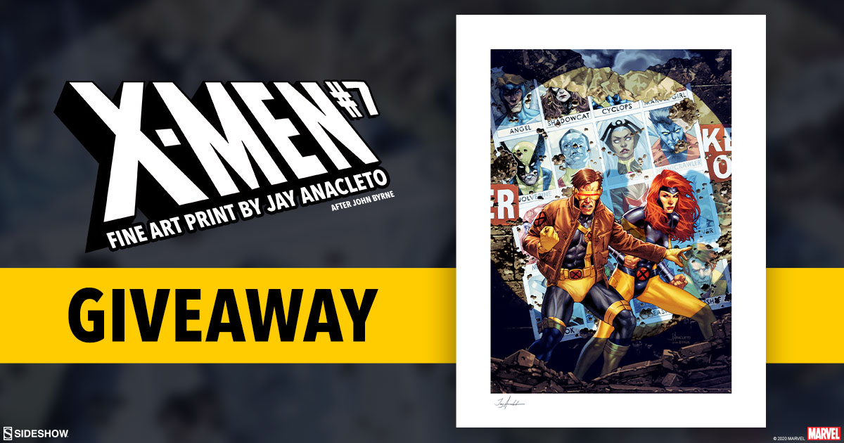 X-Men #7 Fine Art Print Giveaway