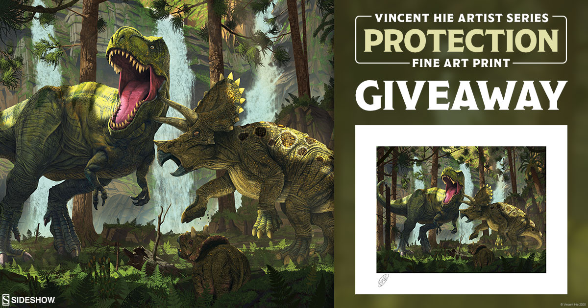 Protection Fine Art Print Giveaway