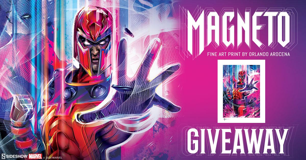Magneto Fine Art Print Giveaway