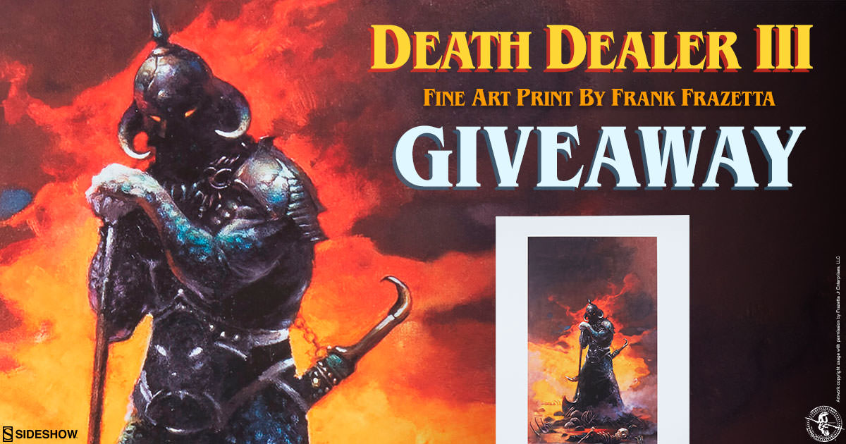 Death Dealer III Fine Art Print Giveaway