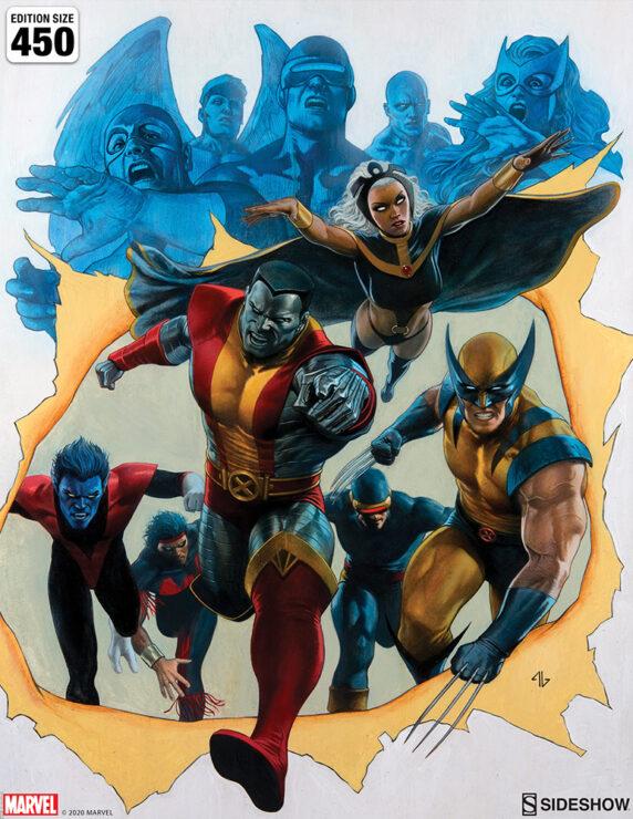 Giant-Size X-Men Fine Art Print by Adi Granov Marvel Collectibles