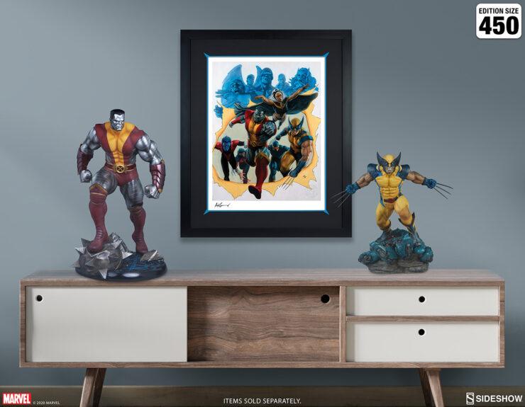 Giant-Size X-Men Fine Art Print by Adi Granov Marvel Collectibles Black Frame