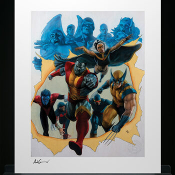 Giant-Size X-Men Fine Art Print by Adi Granov Marvel Collectibles Unframed
