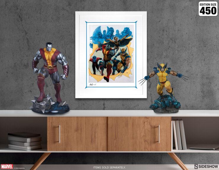 Giant-Size X-Men Fine Art Print by Adi Granov Marvel Collectibles White Frame