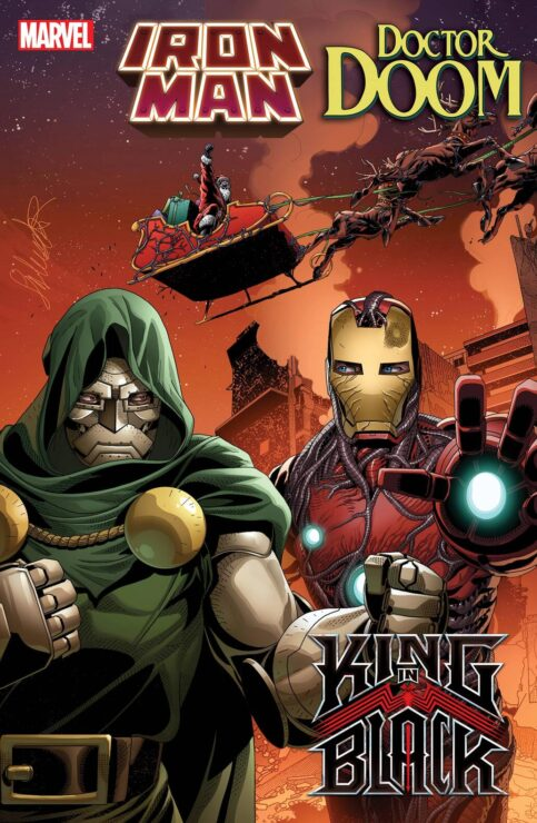 King in Black: Iron Man/Doctor Doom #1 (Marvel Comics)- Christopher Cantwell and Salvador Larocca