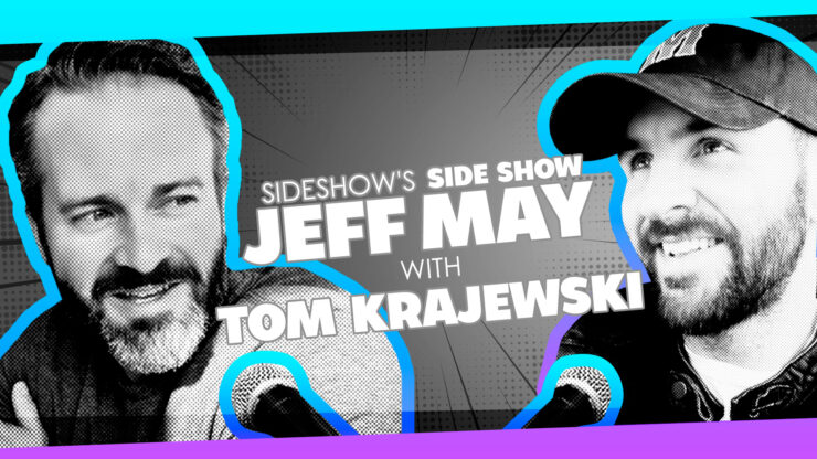 DC's Primer, Comics/Animation, and More with Writer Tom Krajewski on Sideshow's Side Show with Jeff May