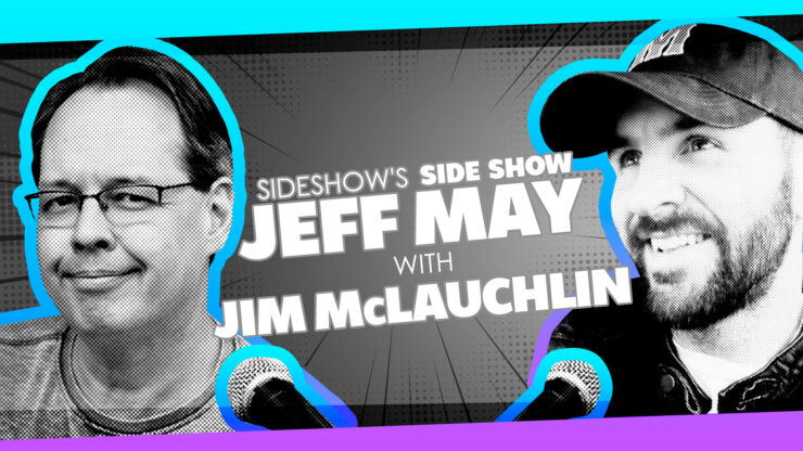 Hero, Wizard Mag History, Movie Cameos, and More with Hero Initiative President Jim McLauchlin on Sideshow's Side Show with Jeff May