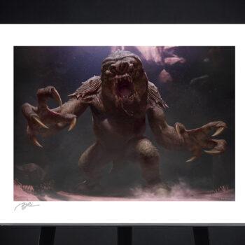 The Rancor Fine Art Print by RJ Palmer